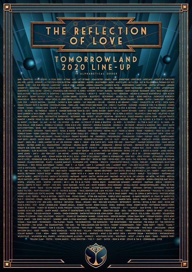 TOMORROWLAND 2020